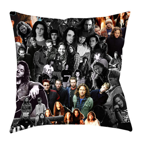 Pearl Jam Photo Collage Pillowcase