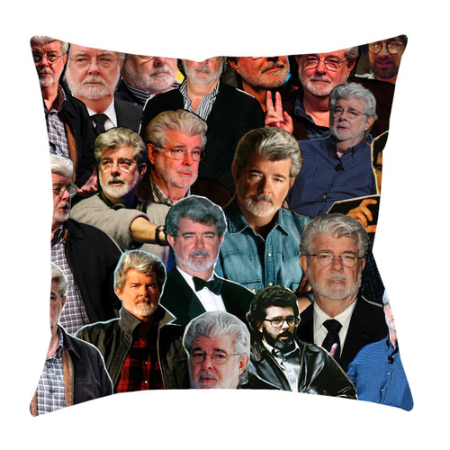 George Lucas Photo Collage Pillowcase