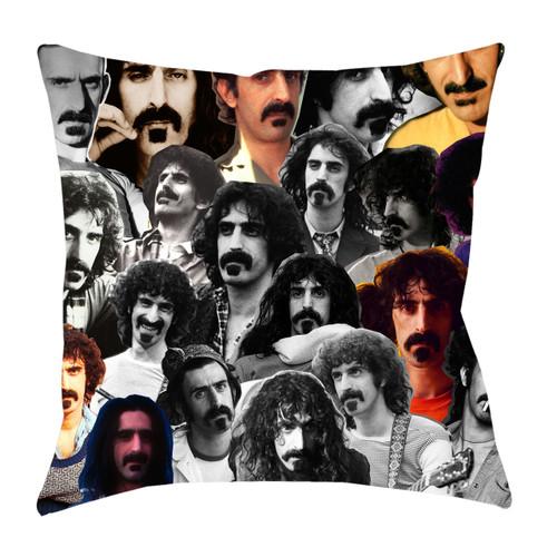 Frank Zappa Photo Collage Pillowcase