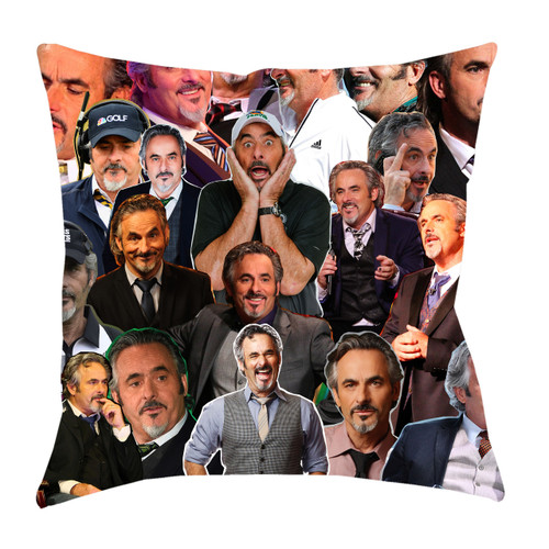 David Feherty Photo Collage Pillowcase