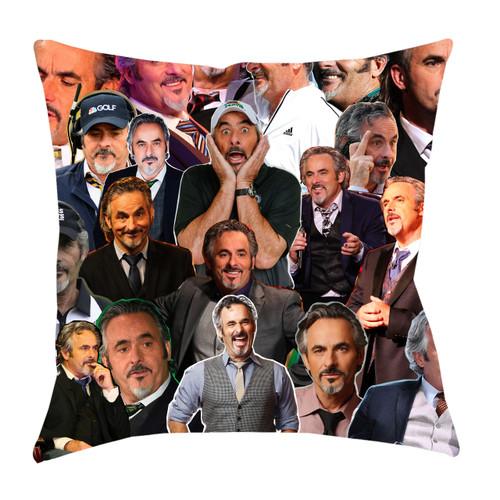 David Feherty Photo Collage Pillowcase