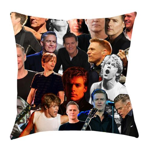 Bryan Adams Photo Collage Pillowcase