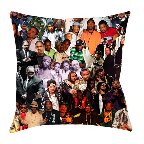 Bone Thugs-N-Harmony Photo Collage Pillowcase