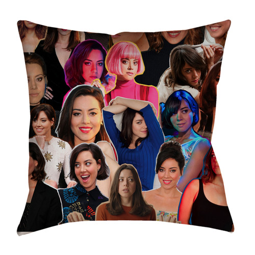 Aubrey Plaza pillowcase