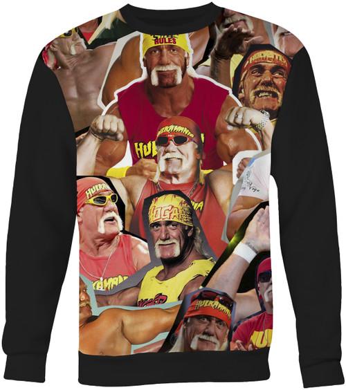 Hulk Hogan Collage Sweater Sweatshirt