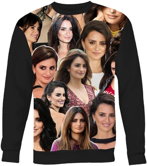 Penelope Cruz Collage Sweater Sweatshirt