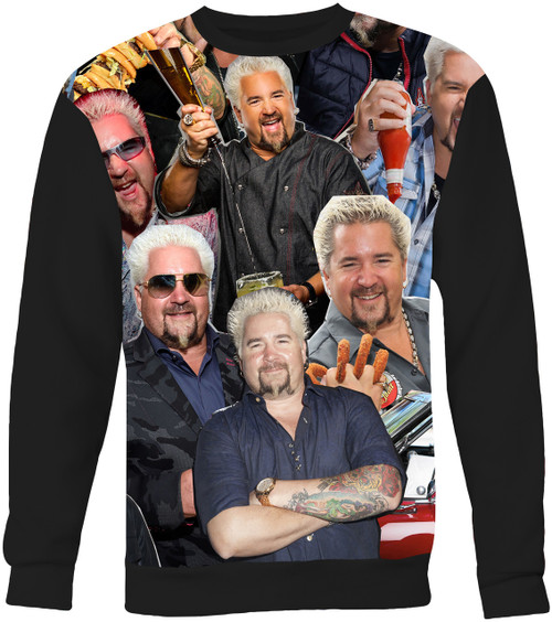 Guy Fieri Collage Sweater Sweatshirt