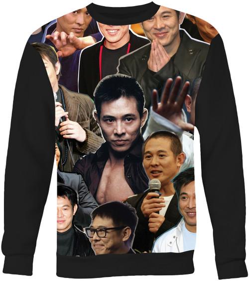 Jet Li Collage Sweater Sweatshirt