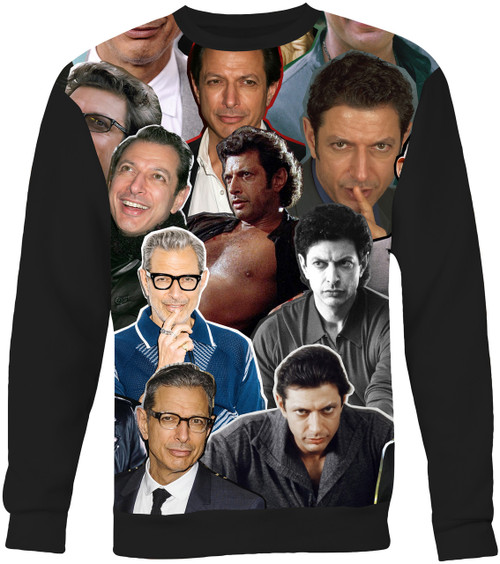 Jeff Goldblum Collage Sweater Sweatshirt