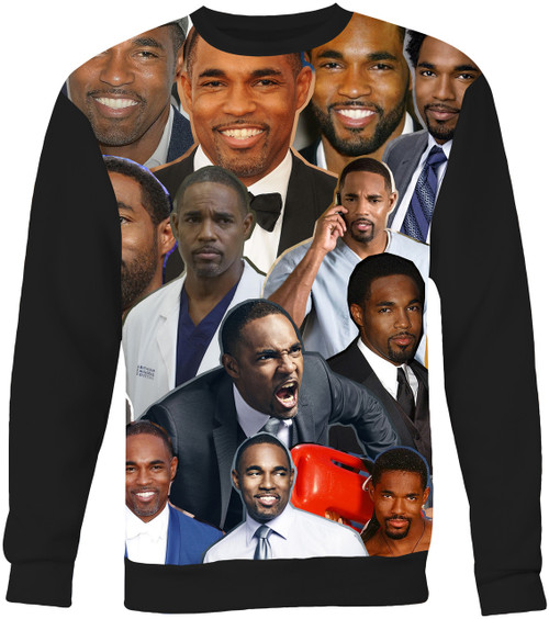 Jason Winston George Collage Sweater Sweatshirt