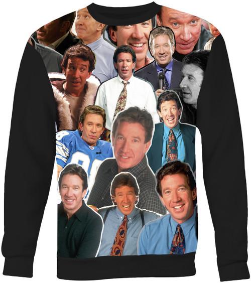 Tim Allen Collage Sweater Sweatshirt