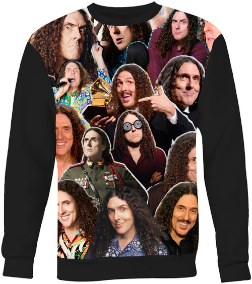 Weird Al Yankovic Collage Sweater Sweatshirt