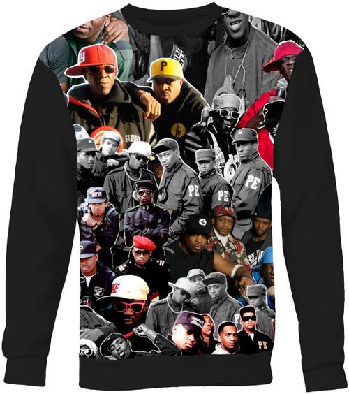 Public Enemy Collage Sweater Sweatshirt
