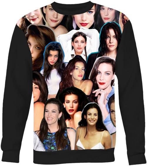 Liv Tyler Collage Sweater Sweatshirt