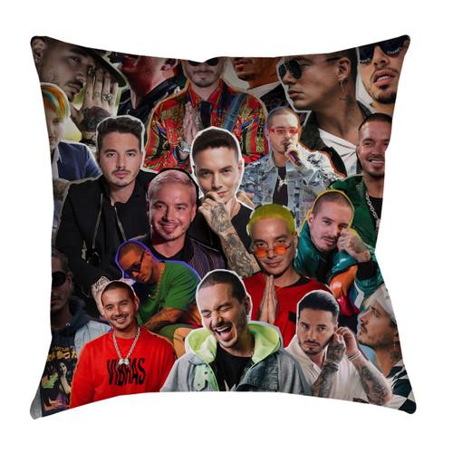 J Balvin pillowcase