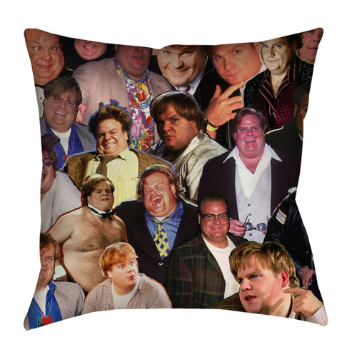 Chris Farley pillowcase