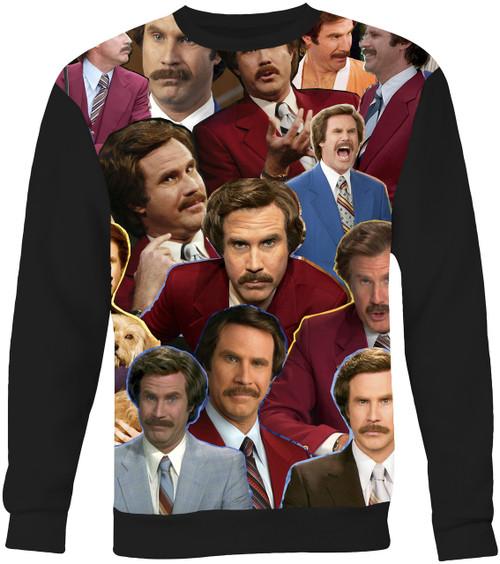 Ron Burgundy Sweater Sweatshirt