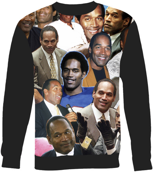 O.J. Simpson sweatshirt