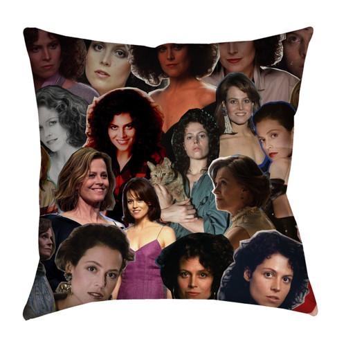 Sigourney Weaver pillowcase