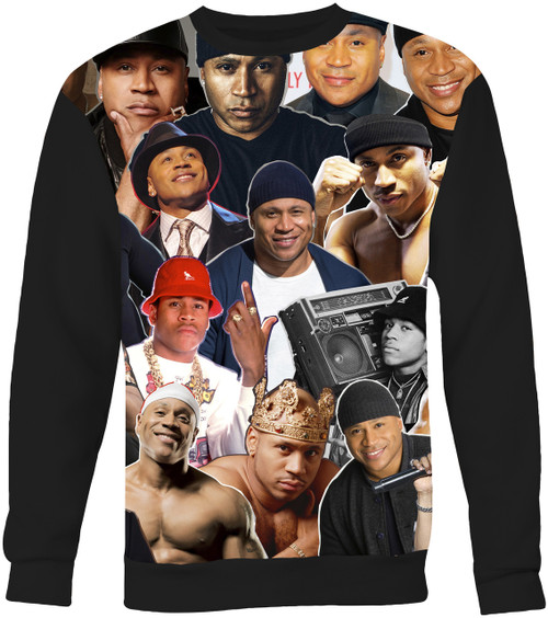 LL Cool J Collage Sweater Sweatshirt