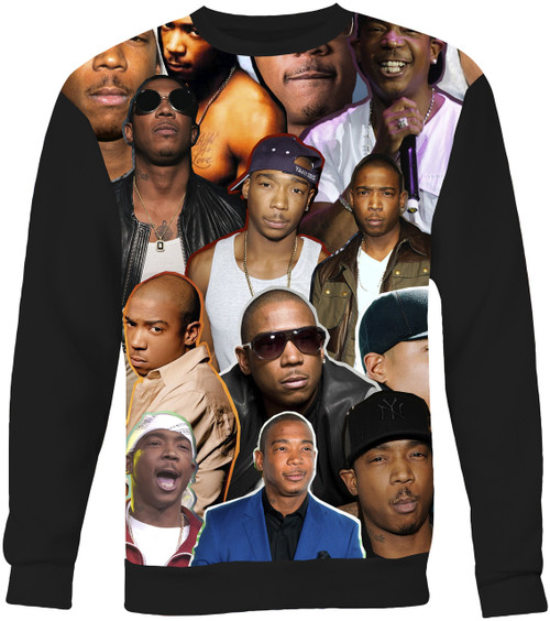 Ja Rule Collage Sweater Sweatshirt