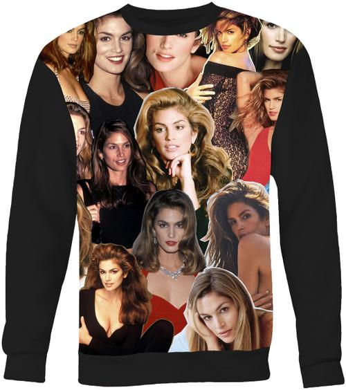 Cindy Crawford Collage Sweater Sweatshirt