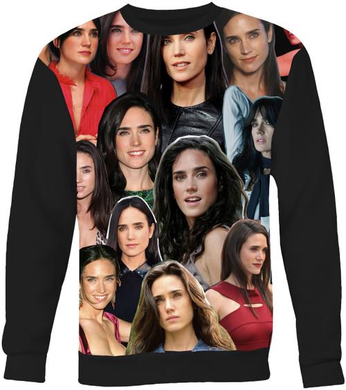 Jennifer Connelly Collage Sweater Sweatshirt