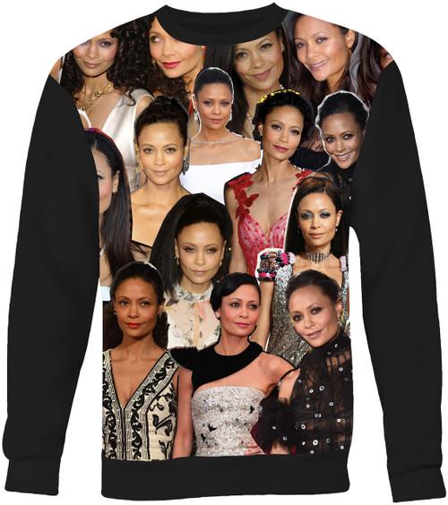 Thandie Newton Collage Sweater Sweatshirt