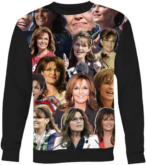 Sarah Palin Collage Sweater Sweatshirt