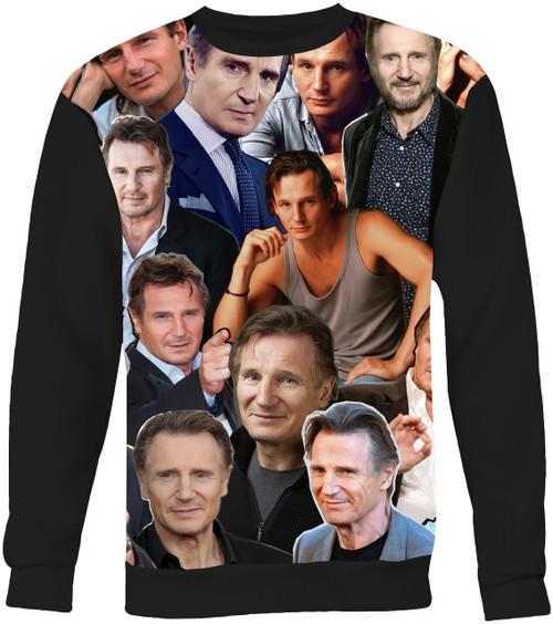 Liam Neeson Collage Sweater Sweatshirt