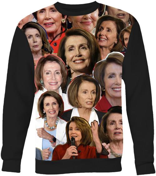 Nancy Pelosi Collage Sweater Sweatshirt