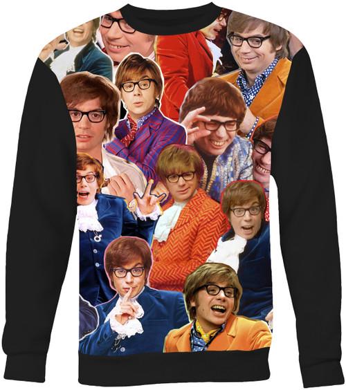 Austin Powers Collage Sweater Sweatshirt