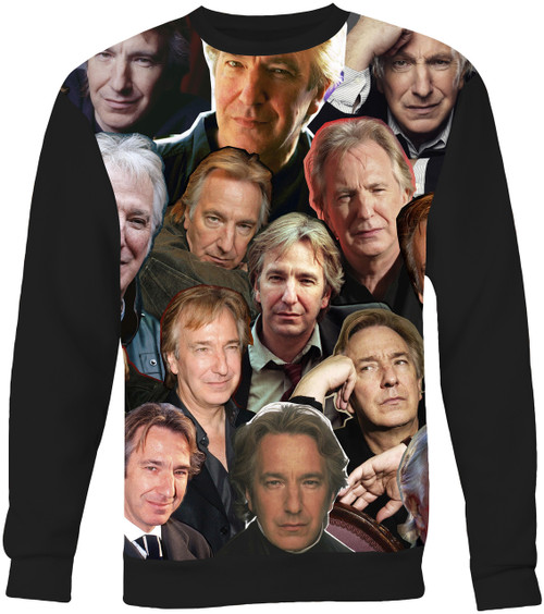 Alan Rickman Collage Sweater Sweatshirt