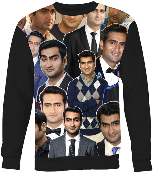 Kumail Nanjiani Collage Sweater Sweatshirt
