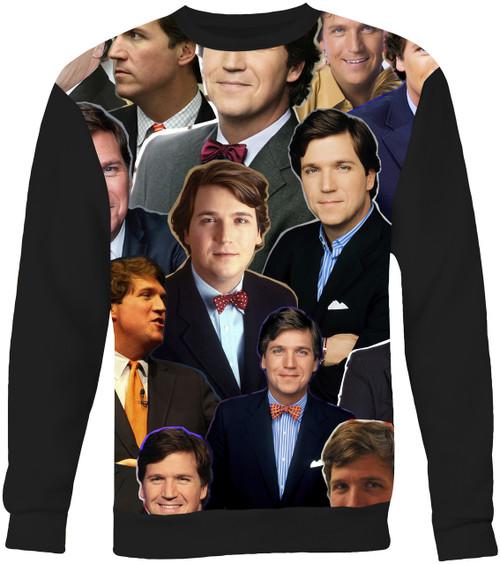 Tucker Carlson Collage Sweater Sweatshirt