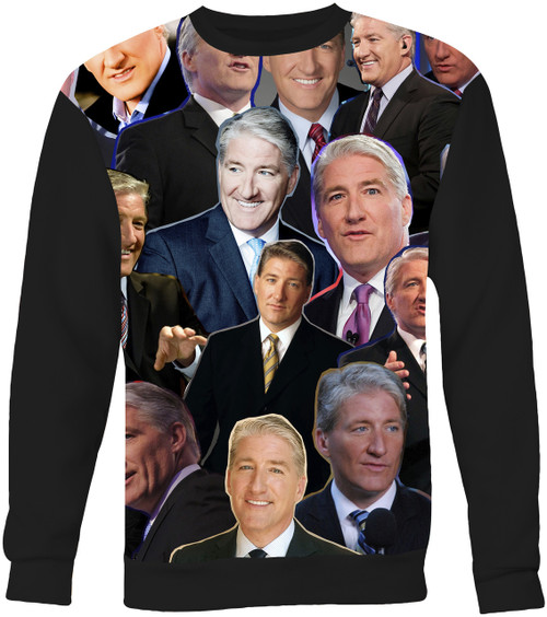 John King Collage Sweater Sweatshirt