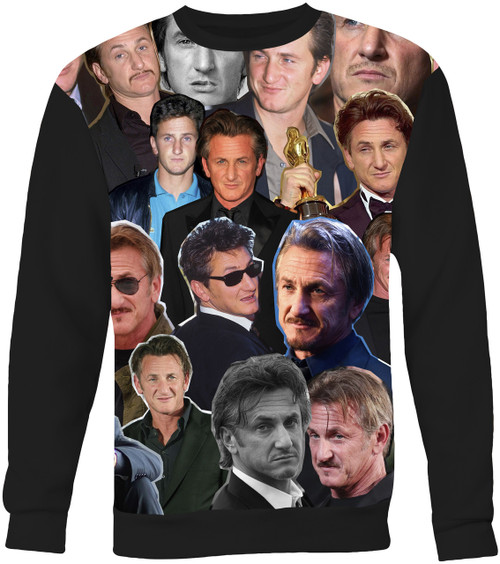 Sean Penn Collage Sweater Sweatshirt
