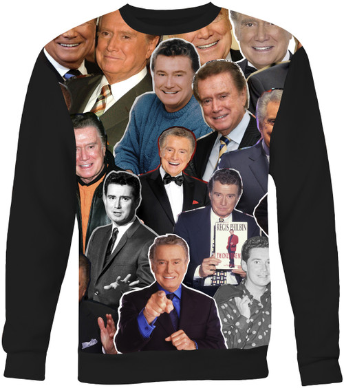 Regis Philbin Collage Sweater Sweatshirt