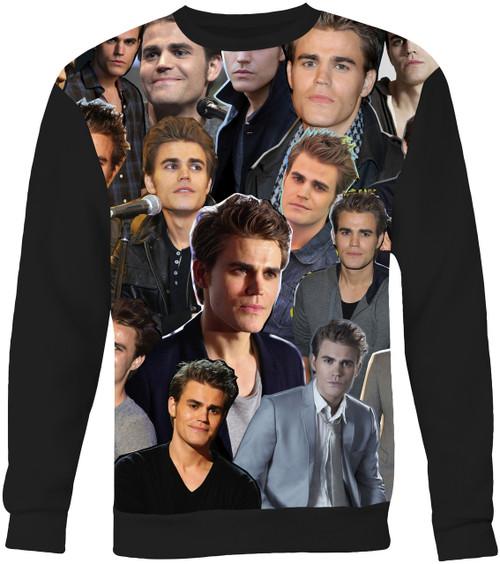 Paul Wesley Collage Sweater Sweatshirt