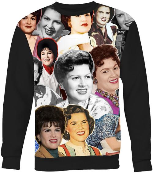 Patsy Cline Collage Sweater Sweatshirt