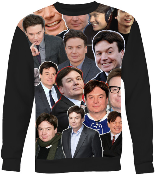 Mike Myers Collage Sweater Sweatshirt