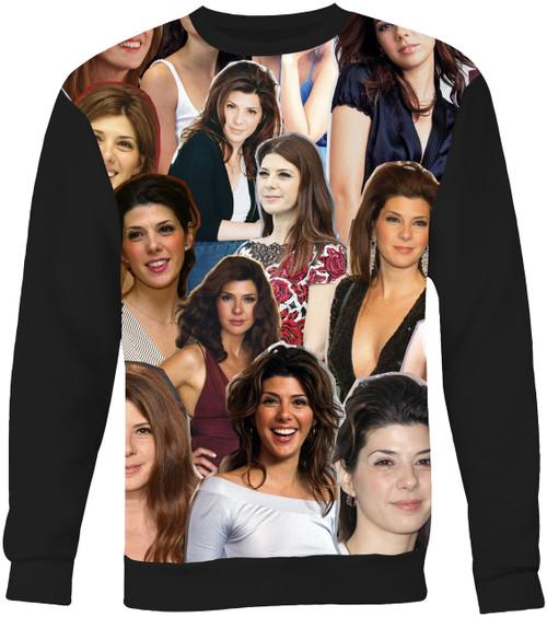 Marisa Tomei Collage Sweater Sweatshirt