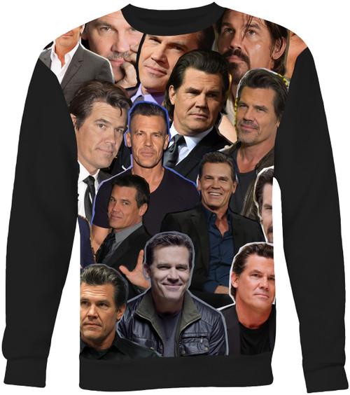 Josh Brolin Collage Sweater Sweatshirt
