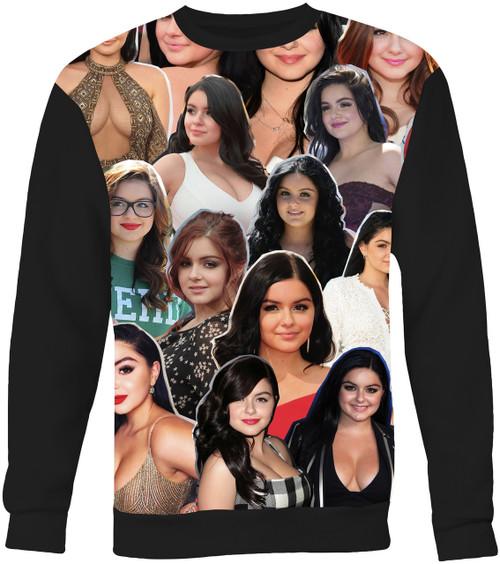Ariel Winter Collage Sweater Sweatshirt