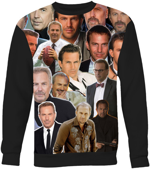 Kevin Costner Collage Sweater Sweatshirt