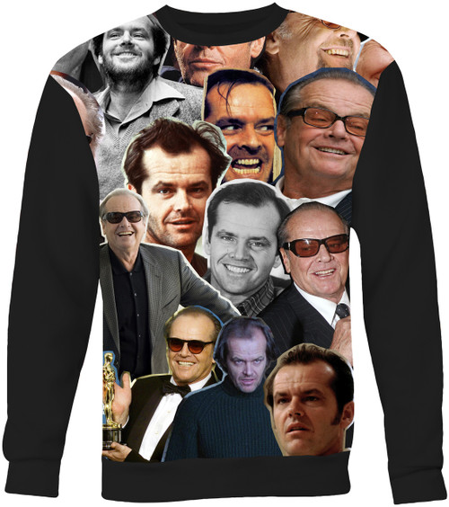 Jack Nicholson Collage Sweater Sweatshirt