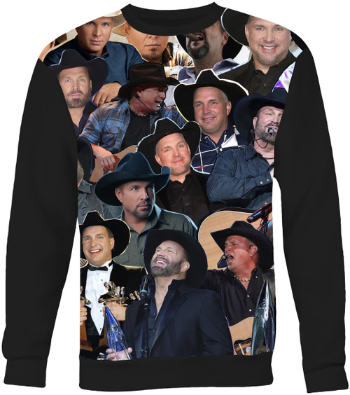 Garth Brooks Collage Sweater Sweatshirt