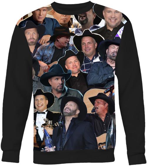 Garth Brooks Collage Sweater Sweatshirt