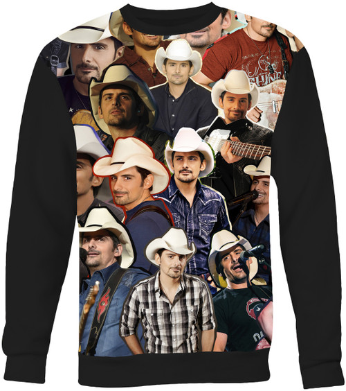 Brad Paisley Collage Sweater Sweatshirt