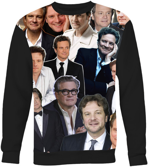 Colin Firth Collage Sweater Sweatshirt
